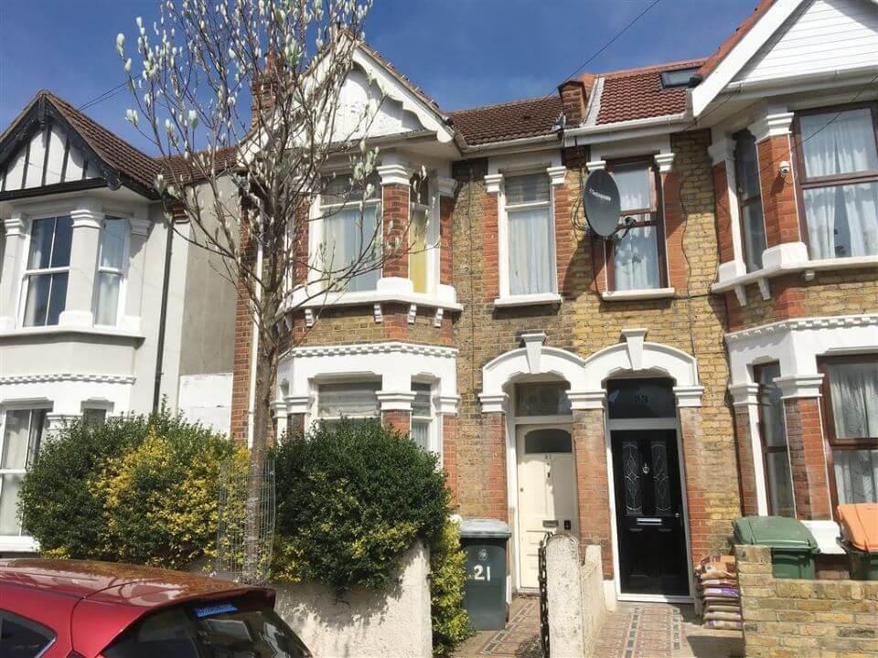 21 Denbigh Road, East Ham, London E6 3LF - front