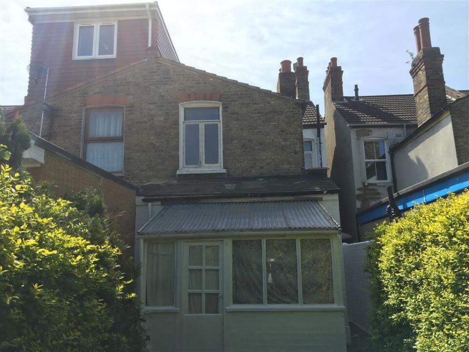 21 Denbigh Road, East Ham, London E6 3LF - rear