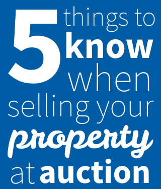 5 tips for selling your house at auction