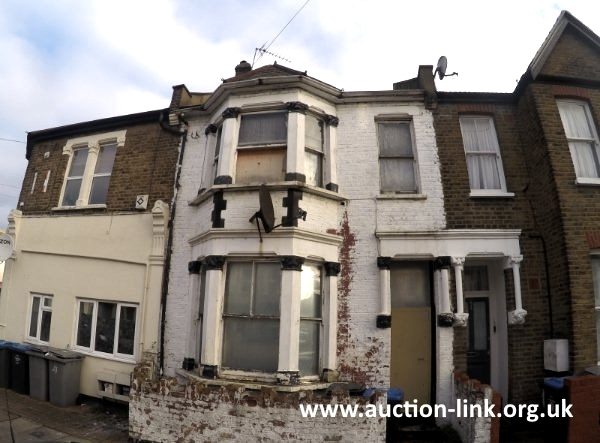 Derelict House in North West London (front)