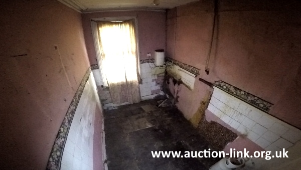 Derelict House in North West London (kitchen)