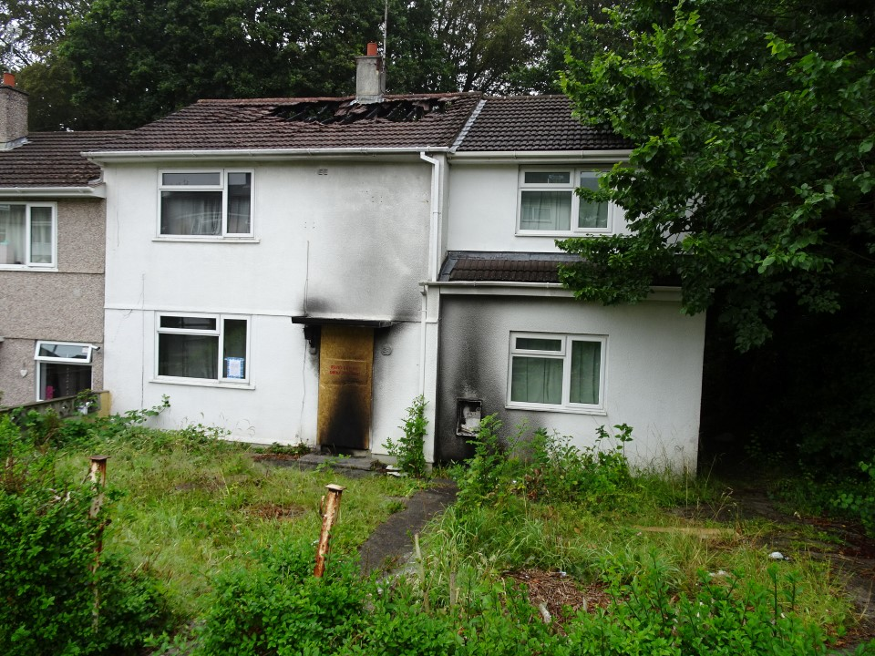 Selling a Fire Damaged House in Plymouth