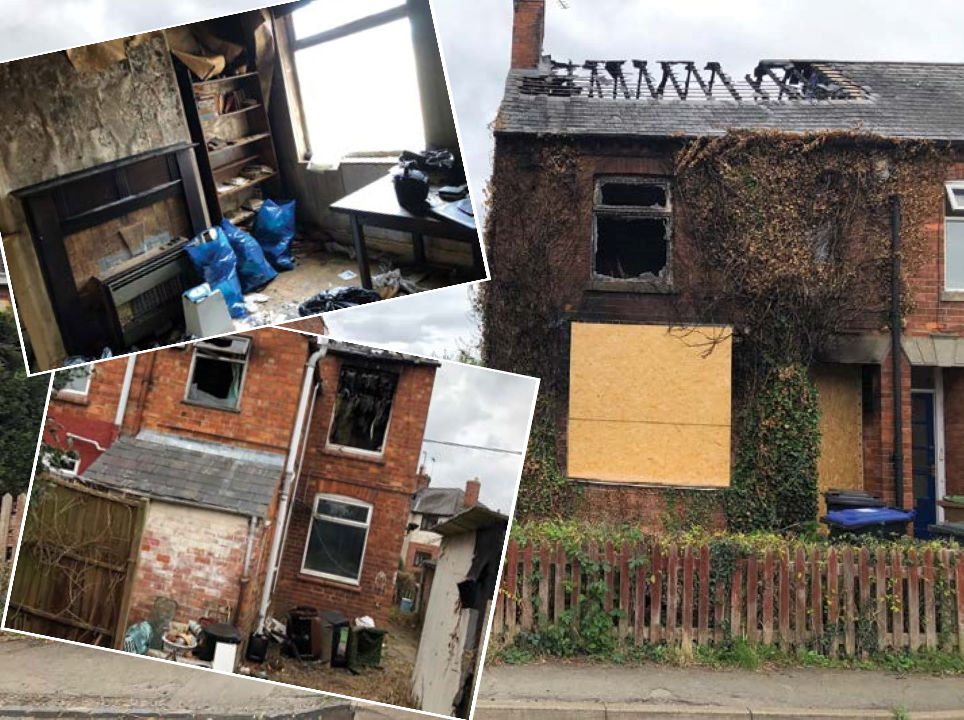 Selling a Fire Damaged House in Northampton