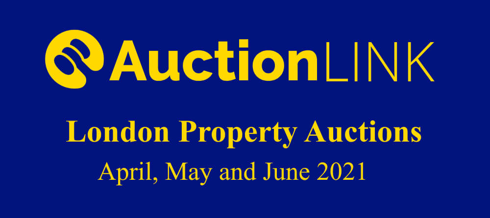 London Property Auctions: April, May and June 2021