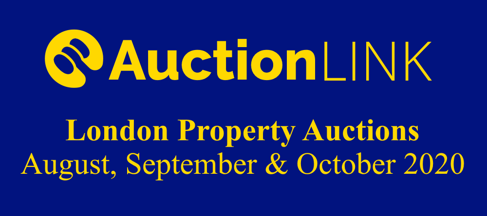 London Property Auctions - August, September and October 2020