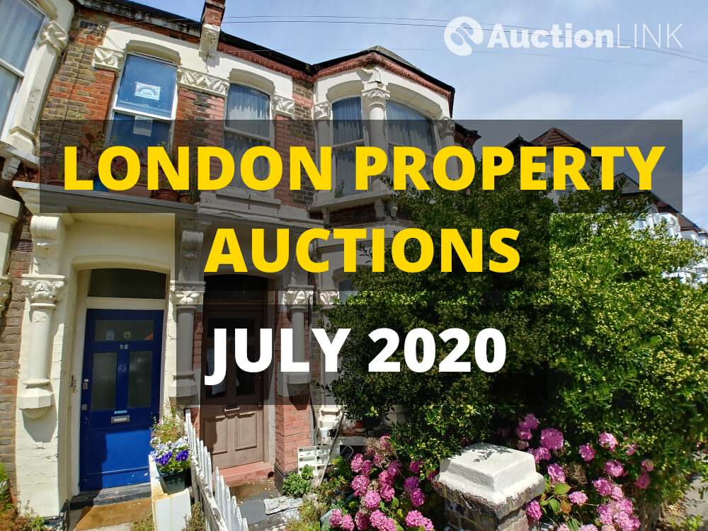 London Property Auctions July 2020