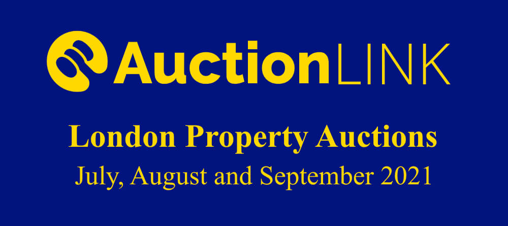 London Property Auctions: July, August and September 2021