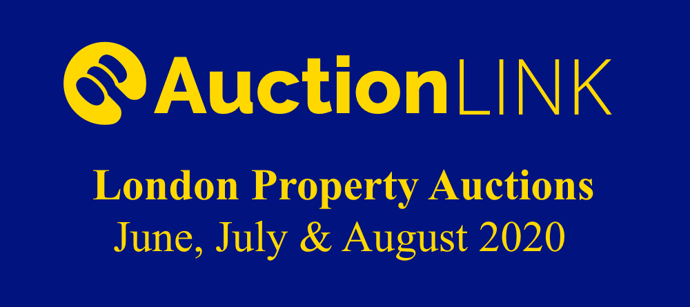 London Property Auctions - June, July, August 2020