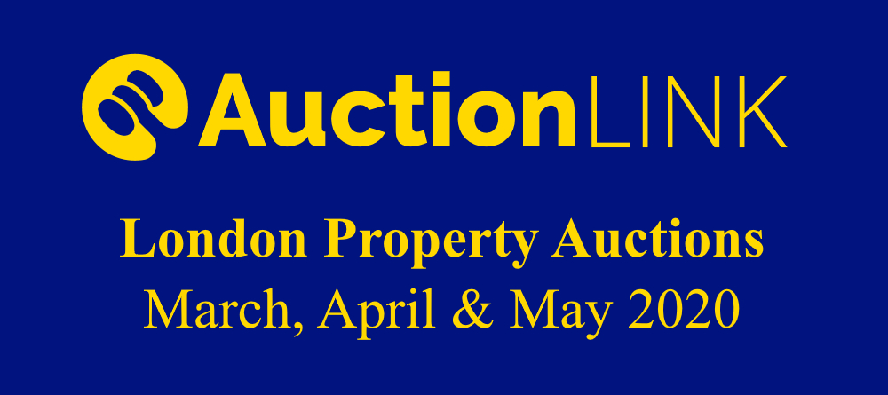 London Property Auctions - March, April, May 2020