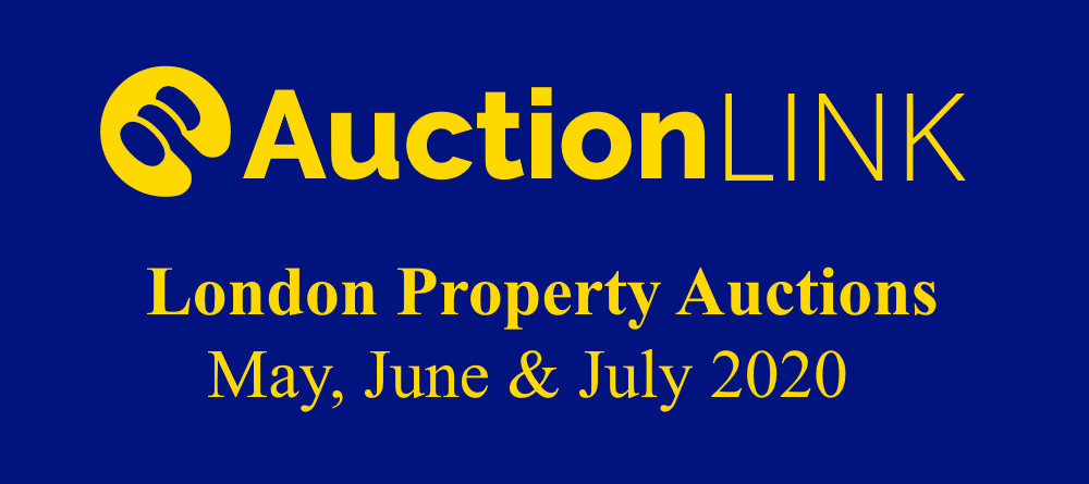 London Property Auctions - May, June, July 2020