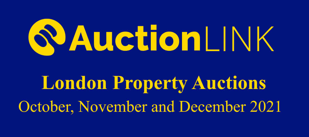 London Property Auctions: October, November and December 2021