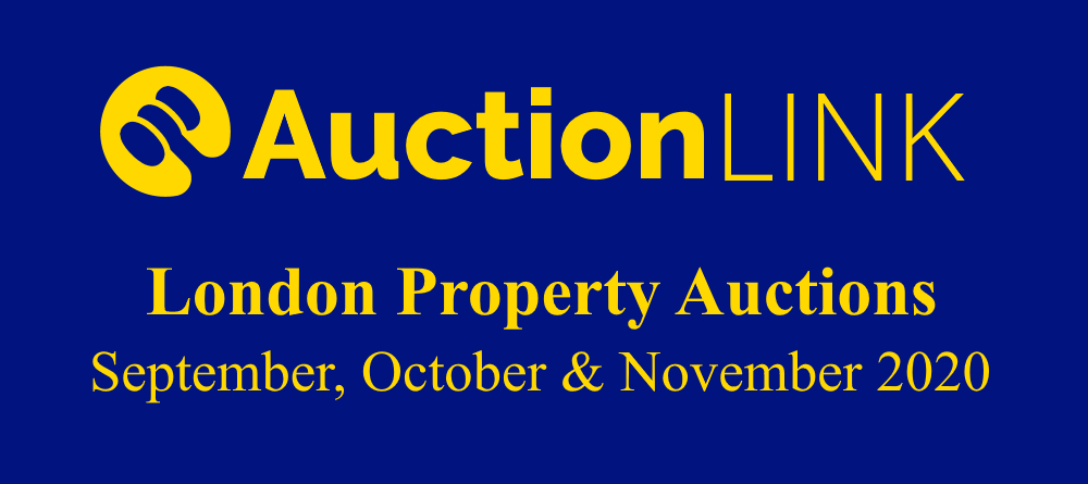 London Property Auctions - September, October, November 2020