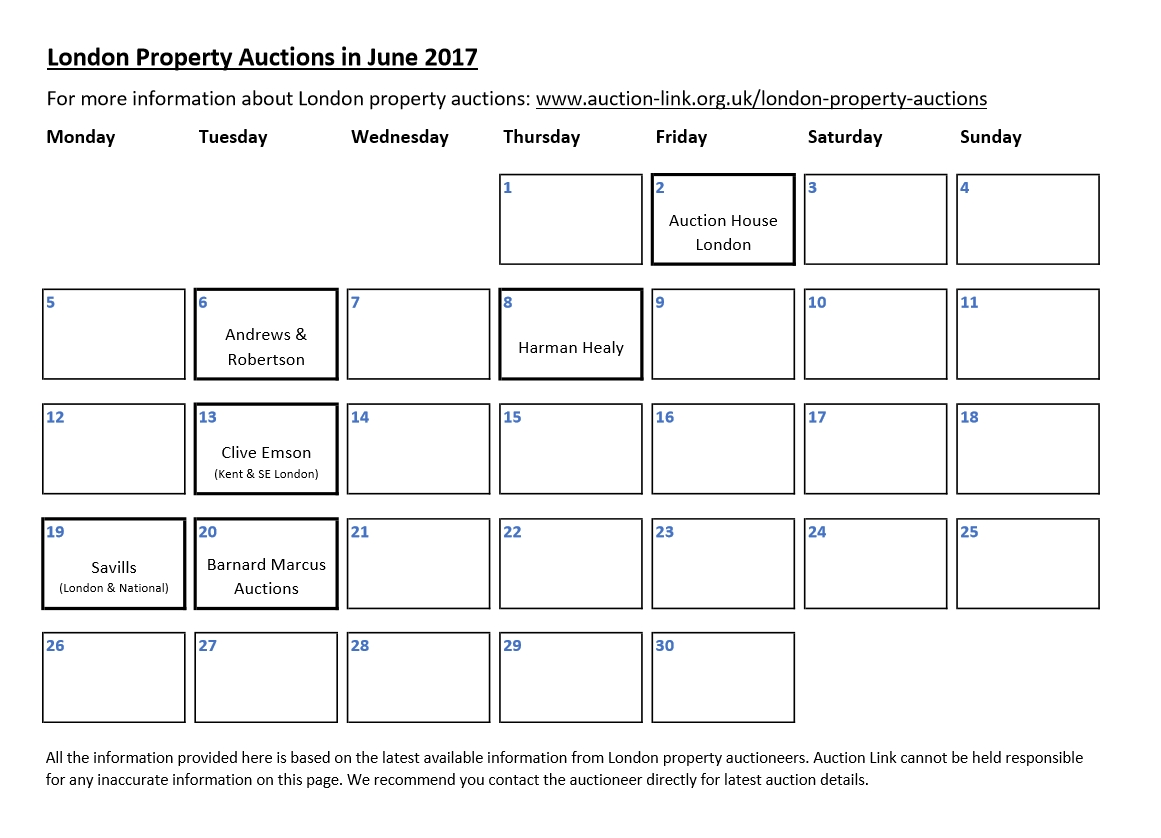 Upcoming Property Auctions Uk