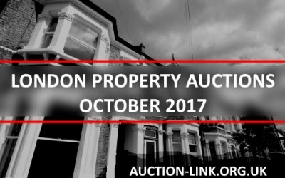 London Property Auctions in October 2017