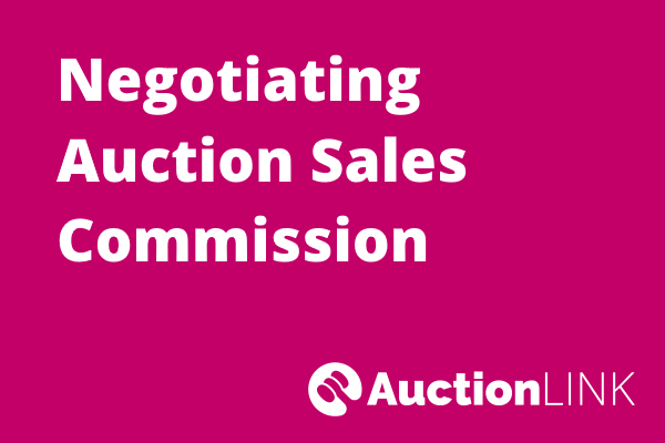 Selling a House at Auction - Negotiating Sales Commission
