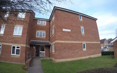 Selling at auction: Flat 11, Rookley Court, Linnet Way, Purfleet, Essex RM19 1TW