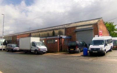 Selling at auction: Unit 43 Middlemore Industrial Estate, Middlemore Road, Smethwick B66 2EA