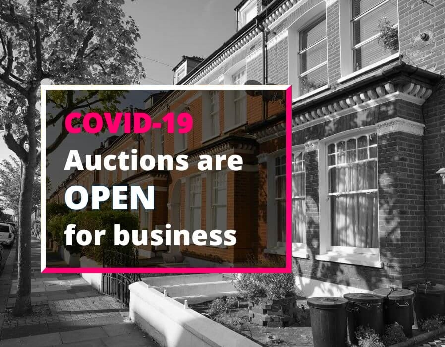 UK property auctions are open for business despite COVID-19 lockdown restrictions