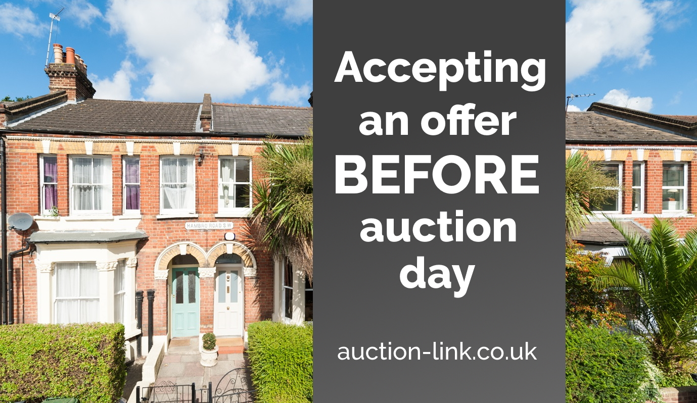 Accepting an Offer Before Auction Day