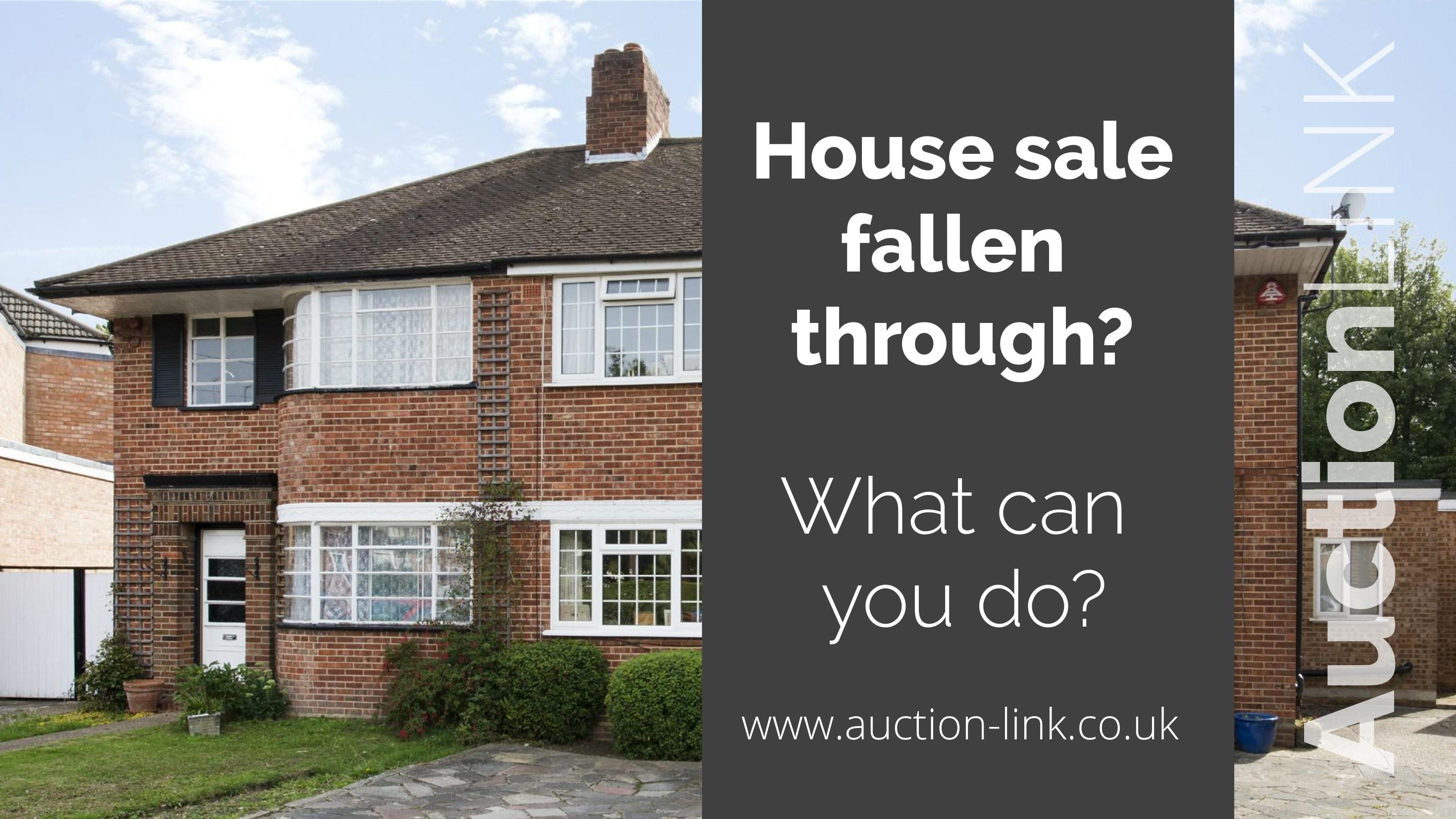 House Sale Fallen Through