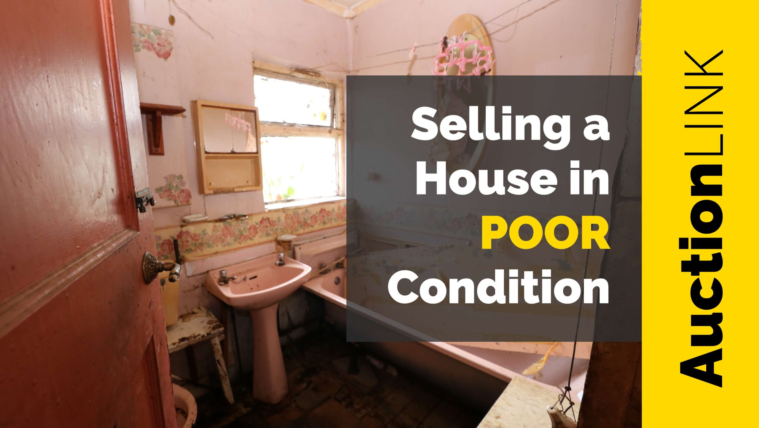 poor condition house