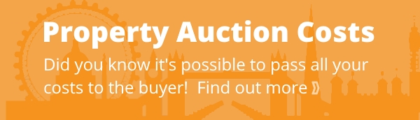 London property auctions - costs for selling