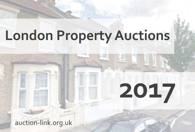 London property auction dates 2017