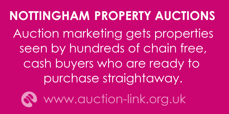 selling a nottingham house at auction