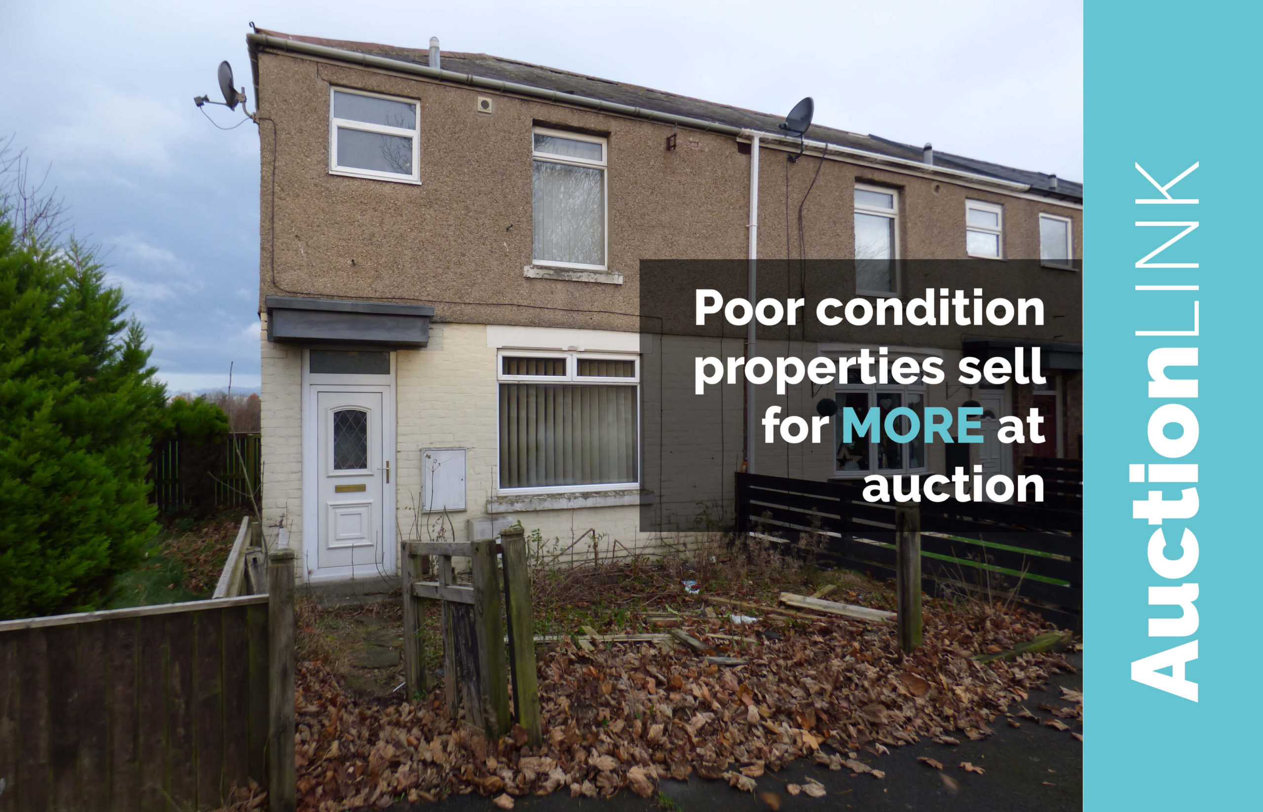 poor condition houses sell for more at auction