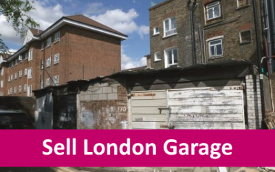 Selling a lock-up garage in London at auction – example sales