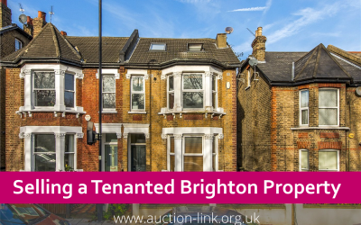 Selling a tenanted Brighton property at auction