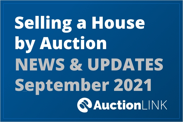Selling at Auction - September 2021