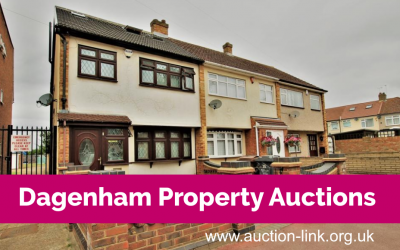 Examples of Dagenham properties sold at auction