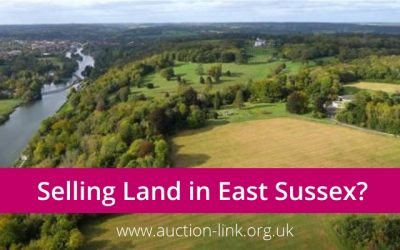 Selling land or building plots in East Sussex