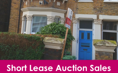 Short lease London properties sold at auction