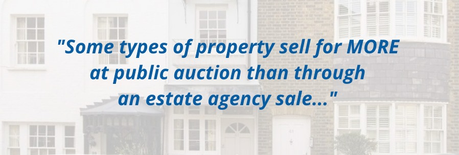 tips for selling property at auction