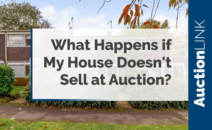 what happens of my house doesn't sell at auction