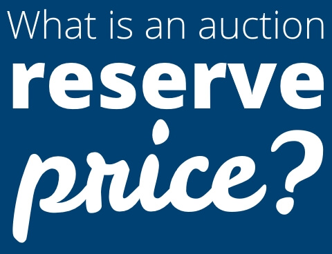 what is an auction reserve price