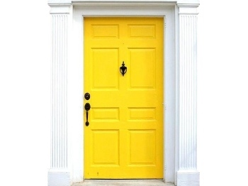 auction sale examples - yellow door